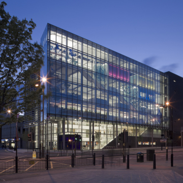 Photograph of Newcastle City Library by Kristen McCluskie