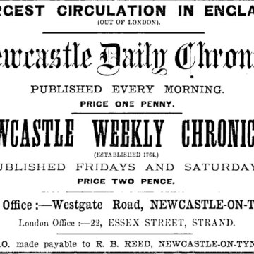 Newcastle Daily Chronicle, reproduced under GNU Free Documentation Licence